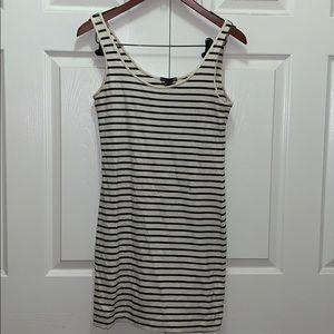 Stripped H&M dress